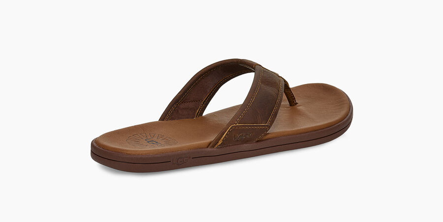 Seaside Leather Flip Flop - Image 4 of 6