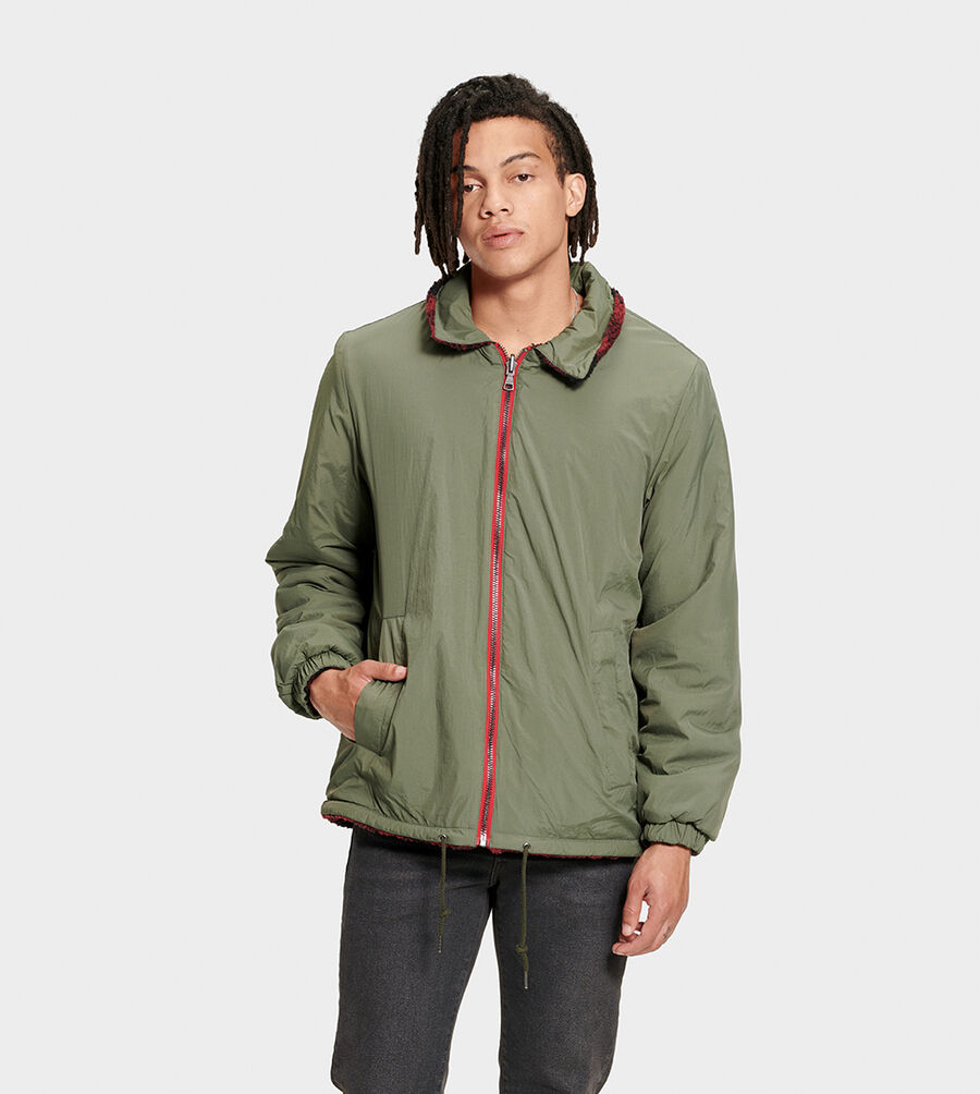 Mace Reversible Sherpa Jacket - Image 1 of 6