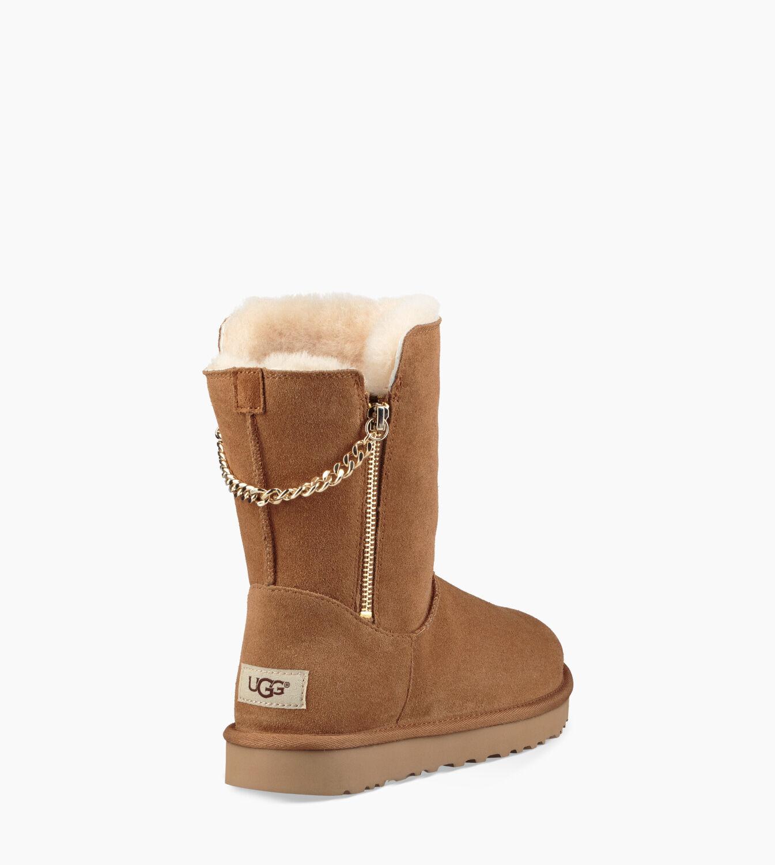 women s classic short sparkle zip boot ugg official rh ugg com