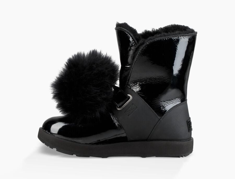 Isley Patent Waterproof Boot - Image 3 of 6