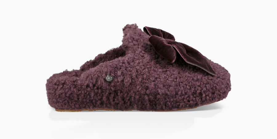 Addison Velvet Bow Slipper - Image 2 of 6