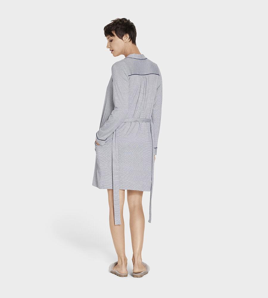 Aldridge Mini Stripe Robe - Image 3 of 5