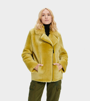 Nadine Short Shearling Jacket