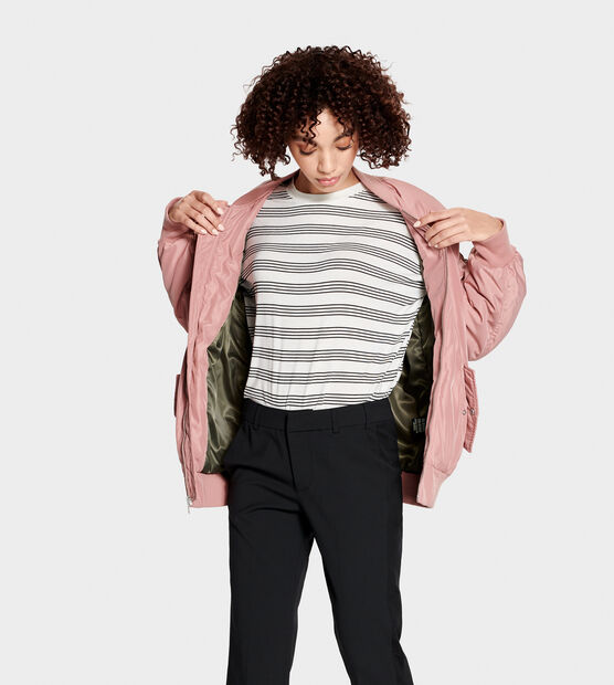 Frances Oversized Bomber Jacket