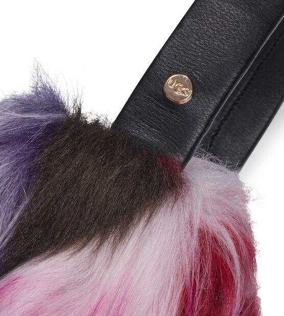 Faux Fur Patchwork Earmuff