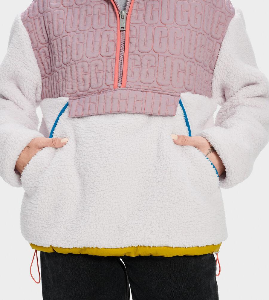 Iggy Sherpa Half Zip Pullover - Image 4 of 4