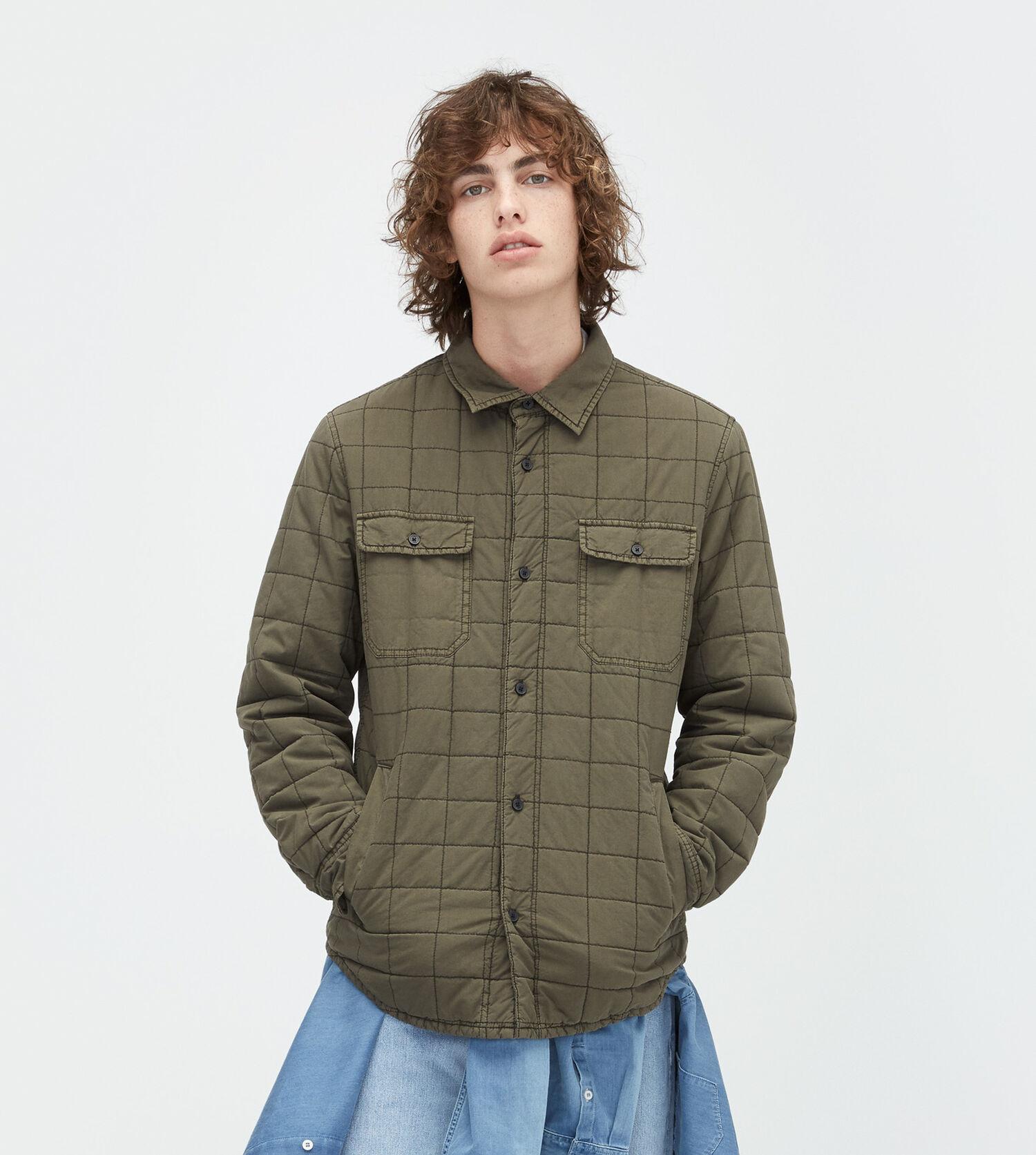 Men's Quilted Shirt Jacket | UGG® Official | UGG.com : mens quilted shirt - Adamdwight.com