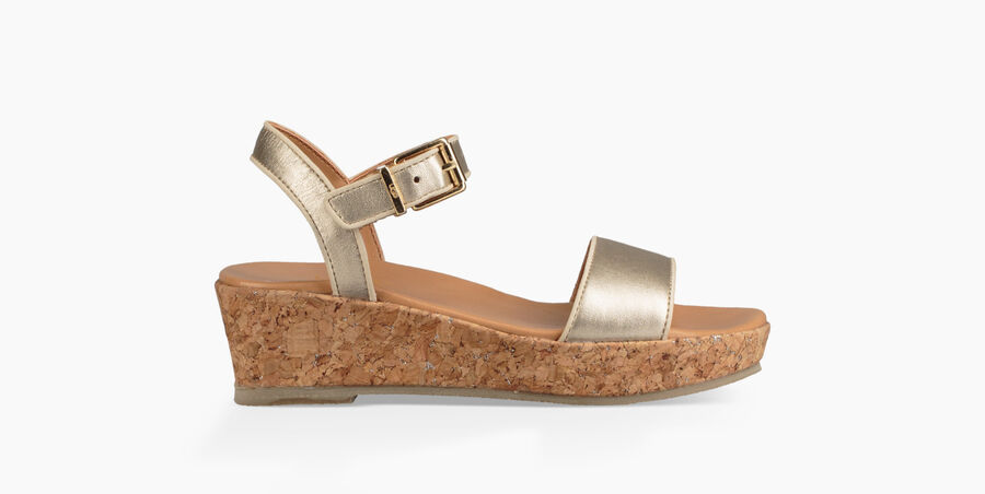 Milley Metallic Sandal - Image 1 of 6