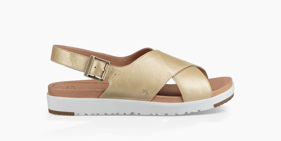 Kamile Metallic Sandal - Image 1 of 6