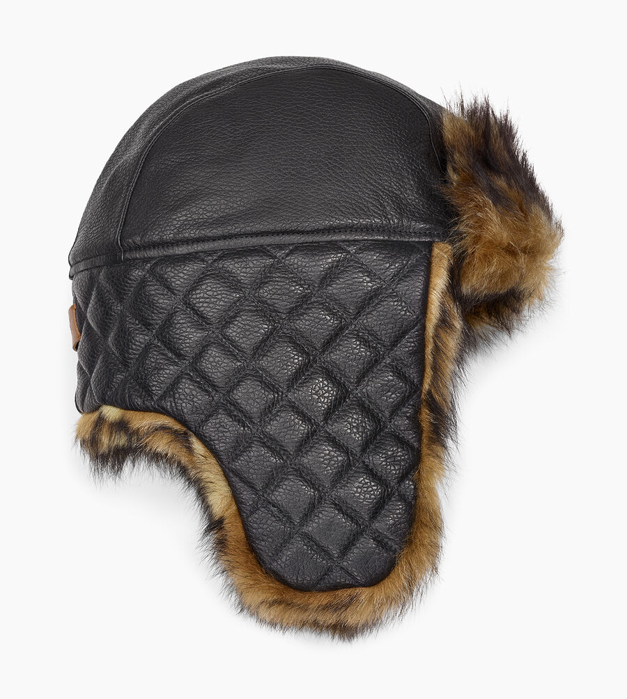 Leather Trapper - Image 1 of 2