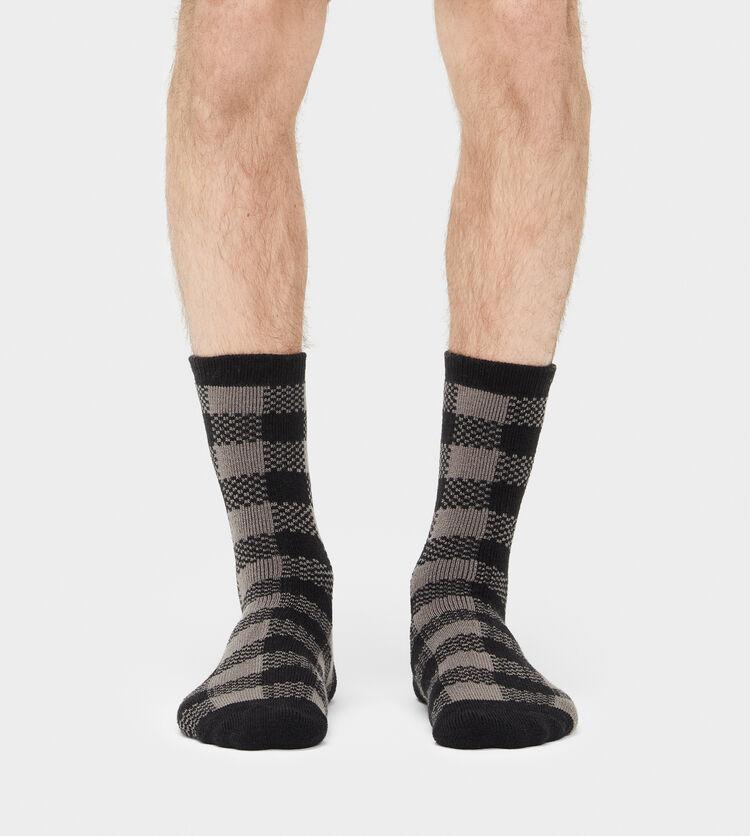 Randall Check Crew Sock