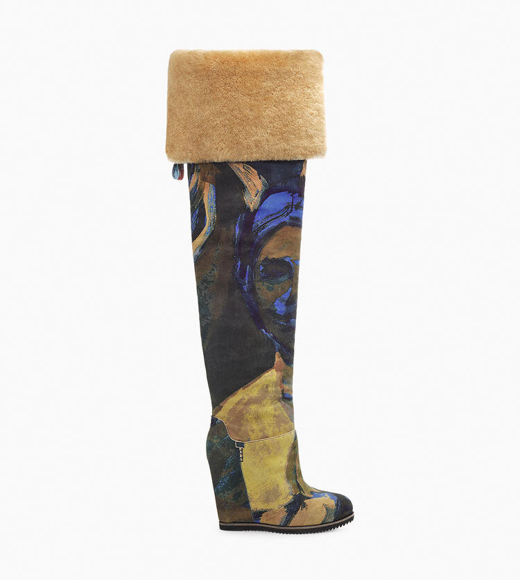 UGG X Claire Tabouret OTK Print Boot