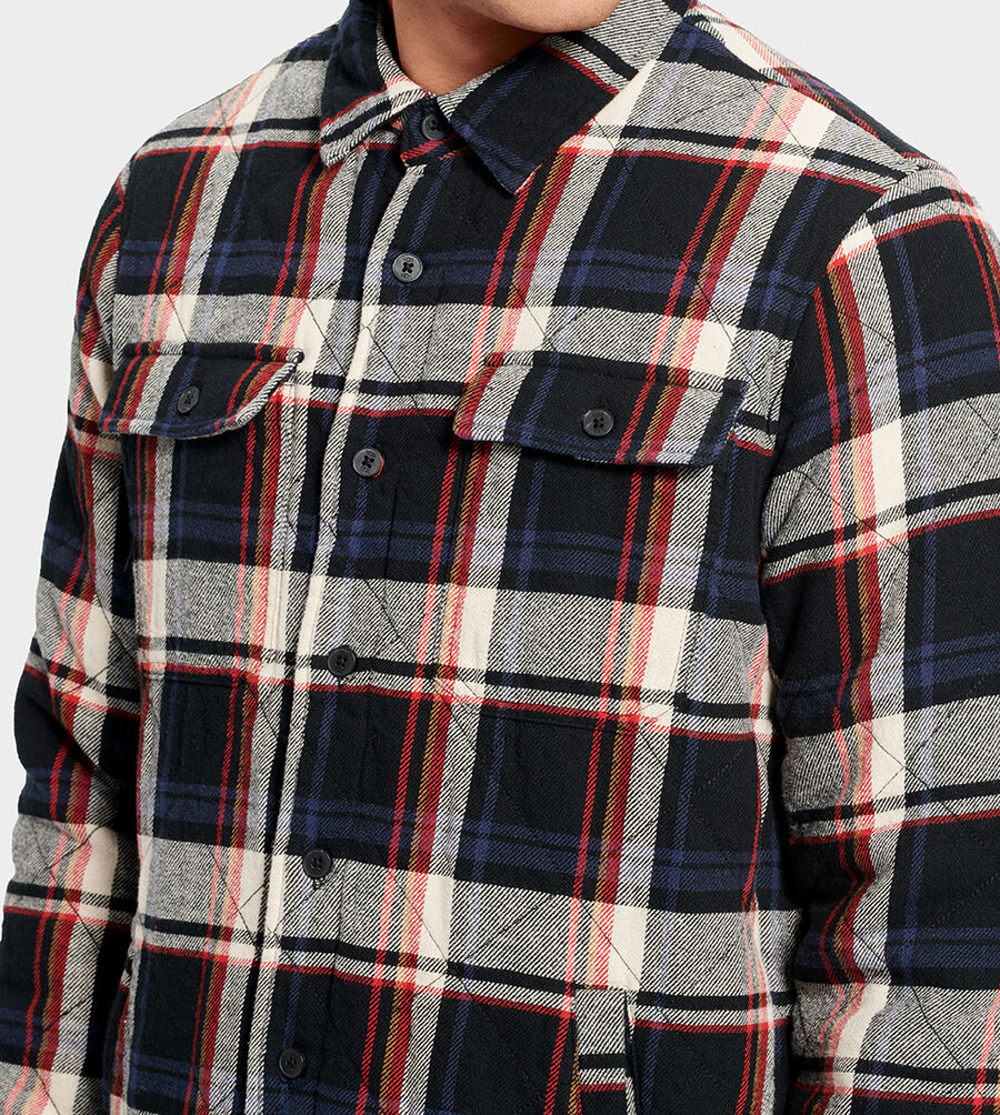 Trent Quilted Shirt Jacket Plaid - Image 4 of 6
