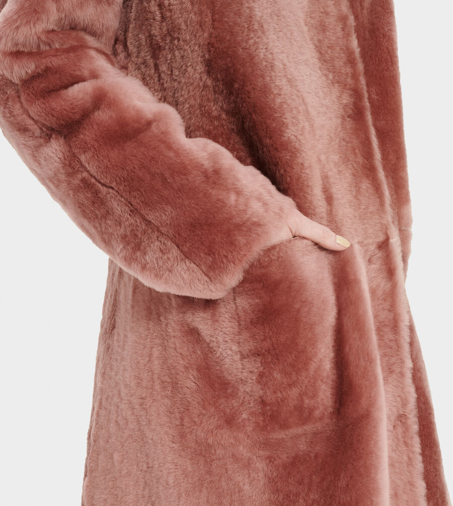Remy Reversible Shearling Coat - Image 3 of 4