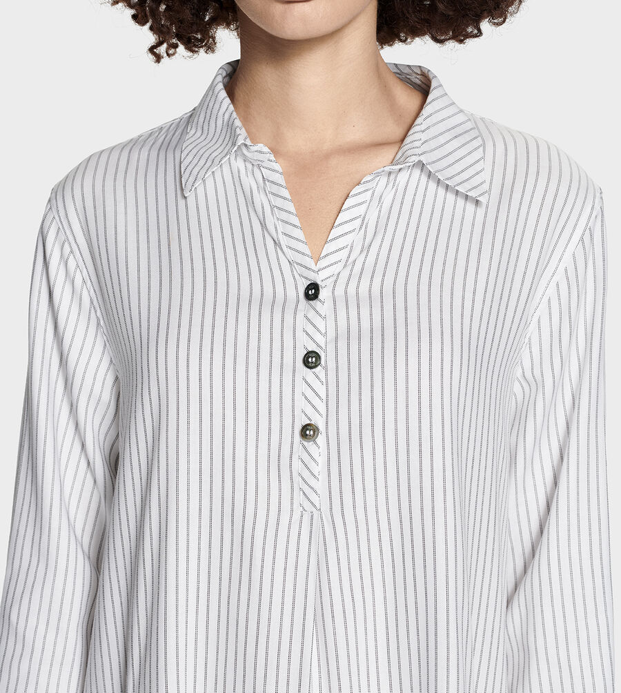 Gabri Stripe Sleep Dress - Image 6 of 6