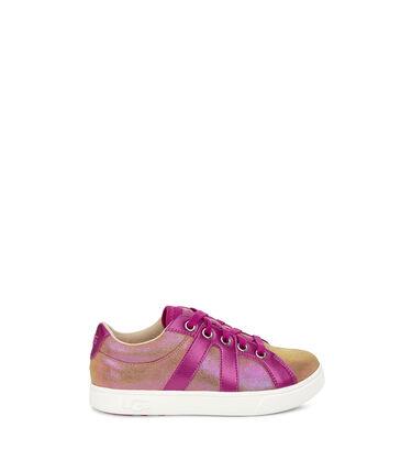 어그 빅키즈 마커스 스니커즈 UGG Marcus Sneaker Shimmer,CHESTNUT / FUCHSIA
