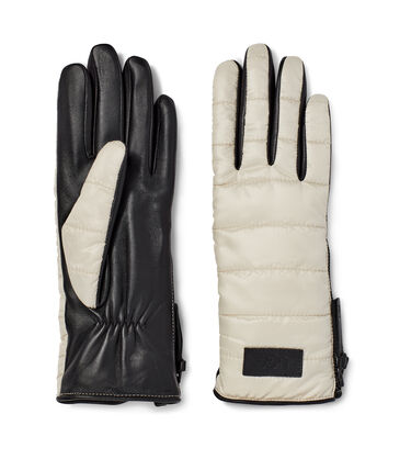 Sherpa Fabric Glove W/ Zipper Alternative View