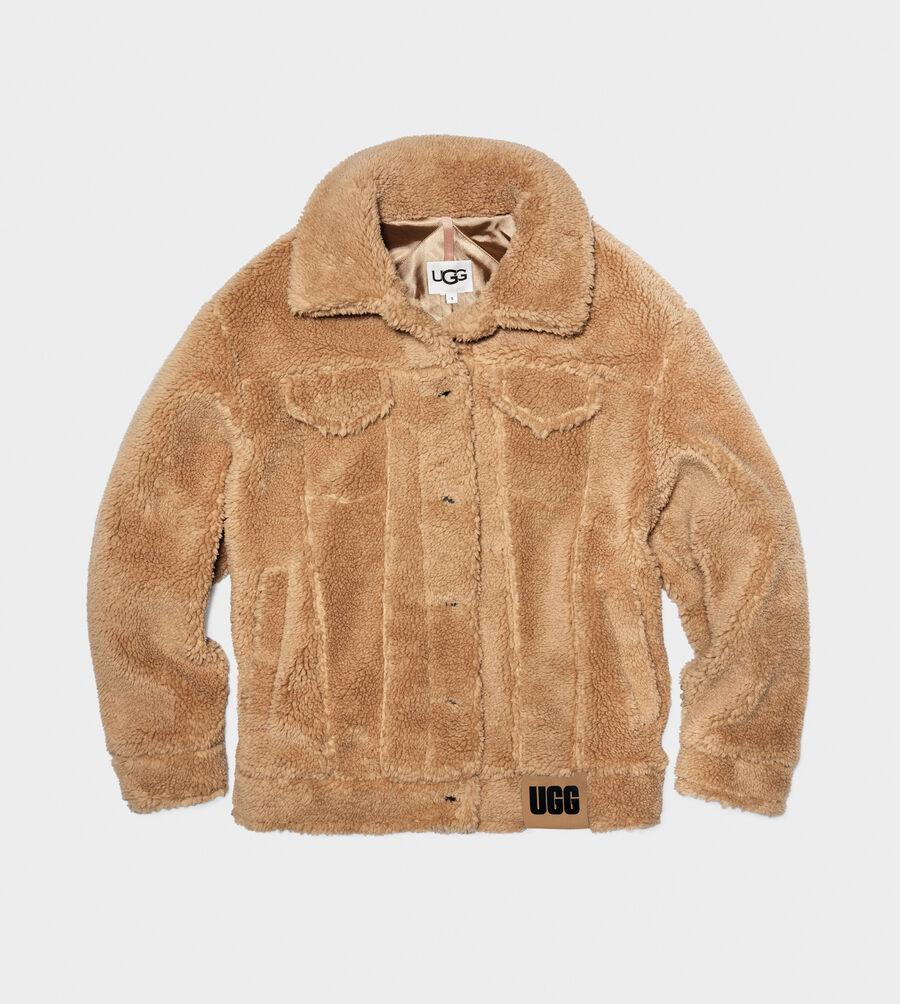 Frankie Sherpa Trucker Jacket - Image 1 of 5