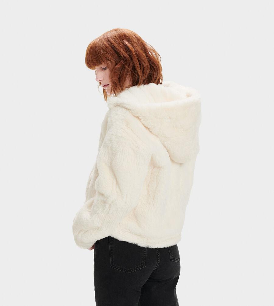 Mandy Faux Fur Hoodie - Image 2 of 4