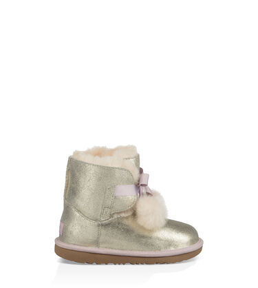 어그 걸즈 부츠 UGG Gita Metallic,GOLD
