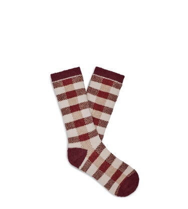 Malcolm Check Crew Sock