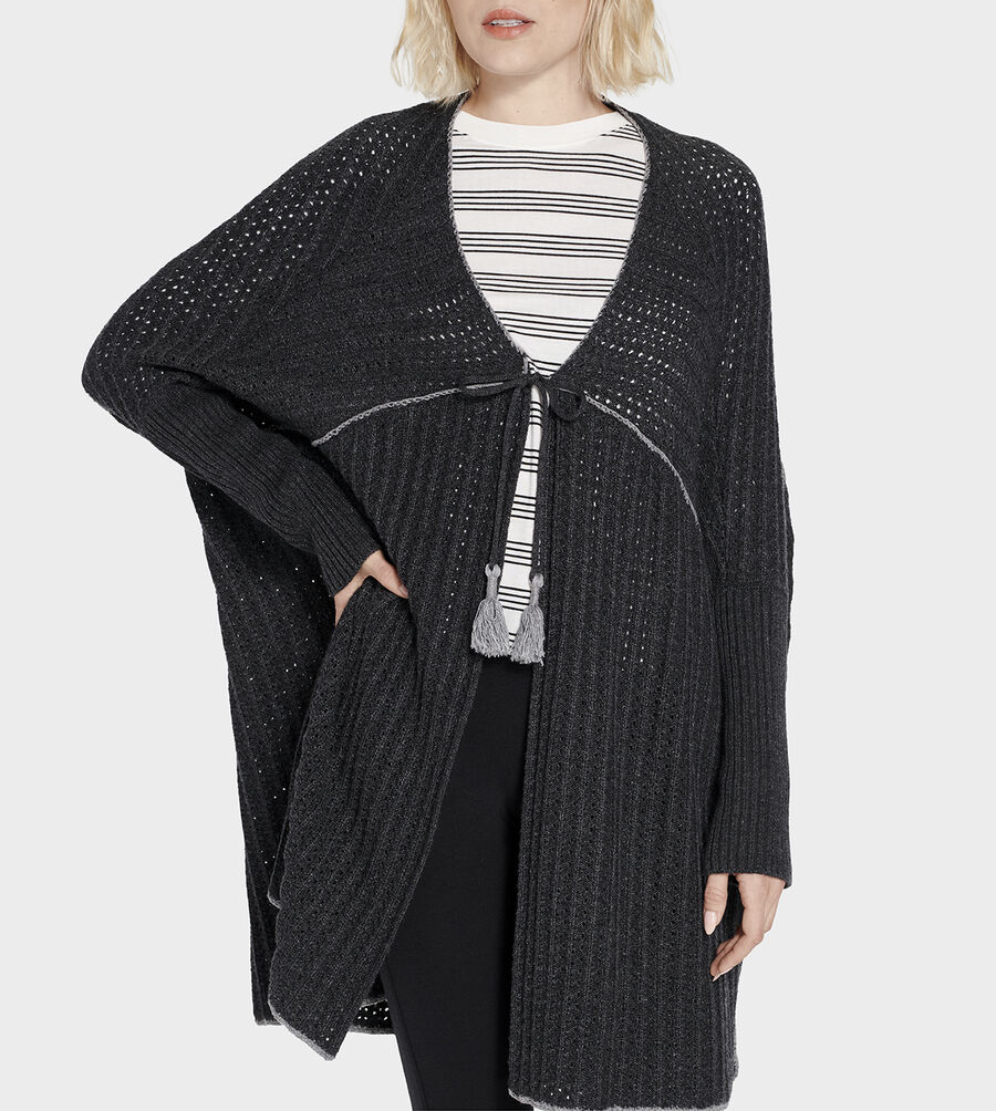 Riley Sweater Poncho - Image 5 of 6
