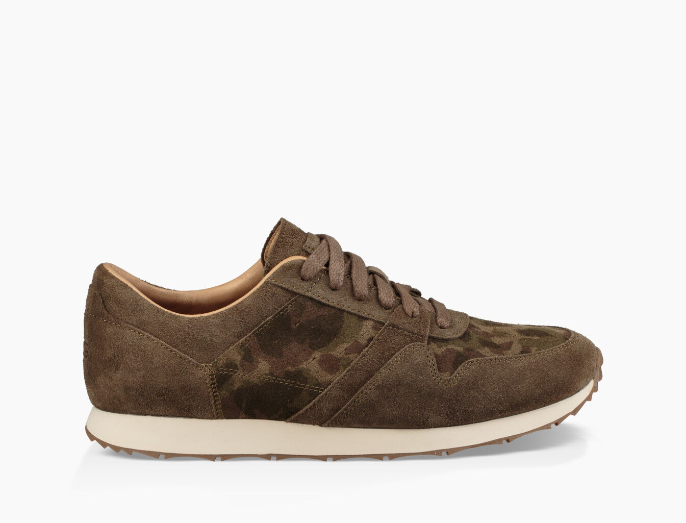 UGG Sneaker TRIGO suede Logo camouflage khaki tNMHB0