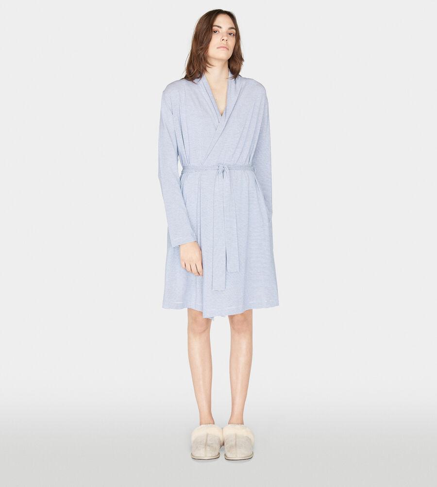 Birgette Mini Stripe Robe - Image 1 of 5