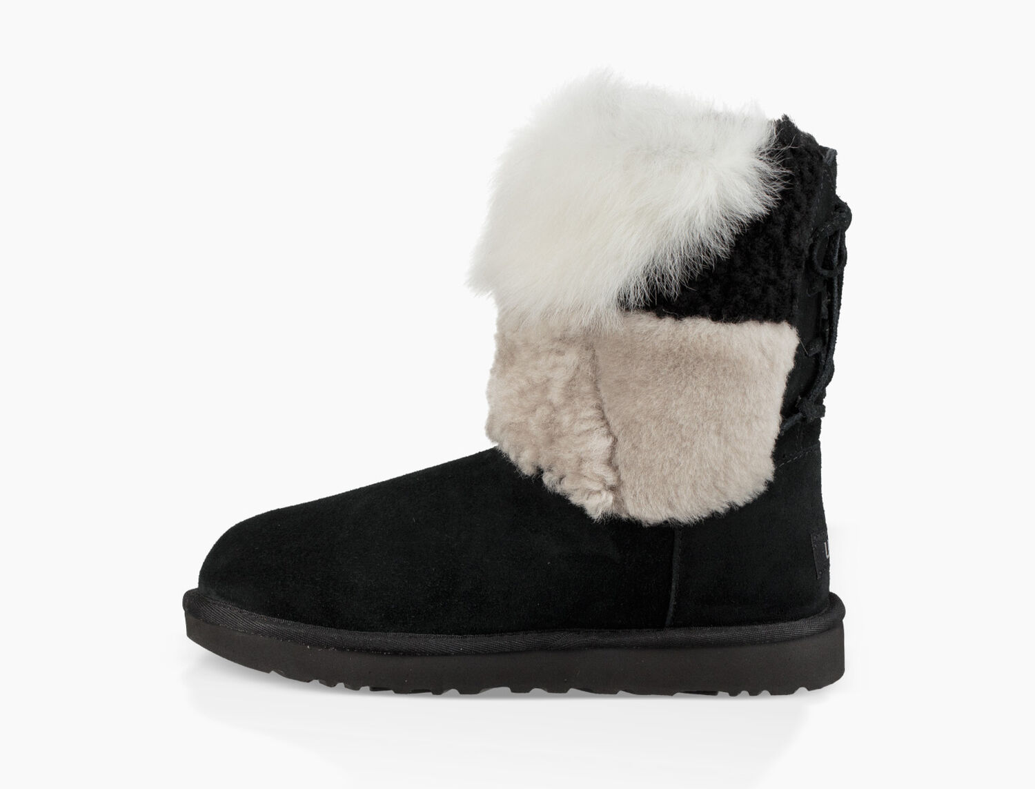 6e92be3e997 Women's Share this product Classic Short Patchwork Fluff Boot