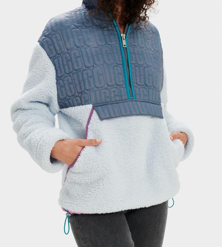 Iggy Sherpa Half Zip Pullover - Image 4 of 5