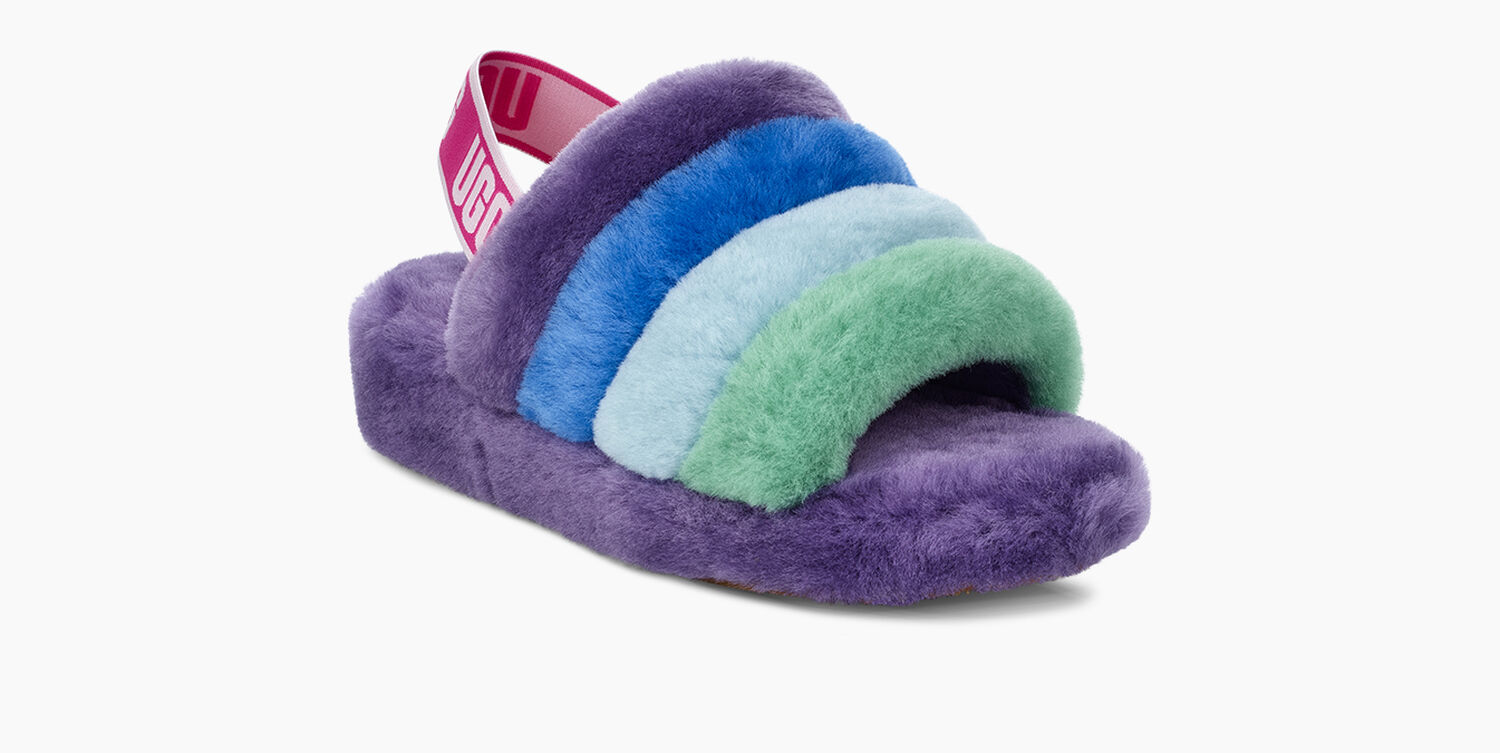0d8b931f0a8 Women's Share this product Rainbow Fluff Yeah Slide