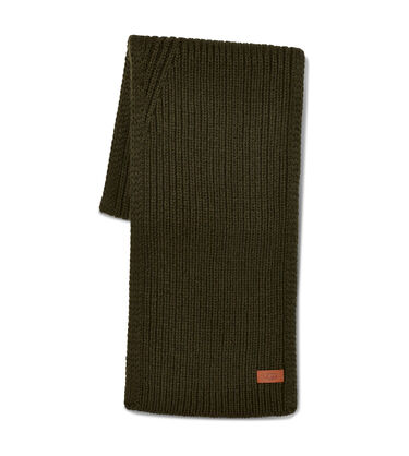 Ribbed Knit Stripe Scarf Alternative View