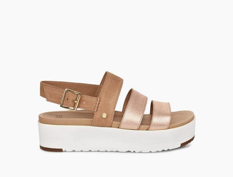 Braelynn Metallic Sandal