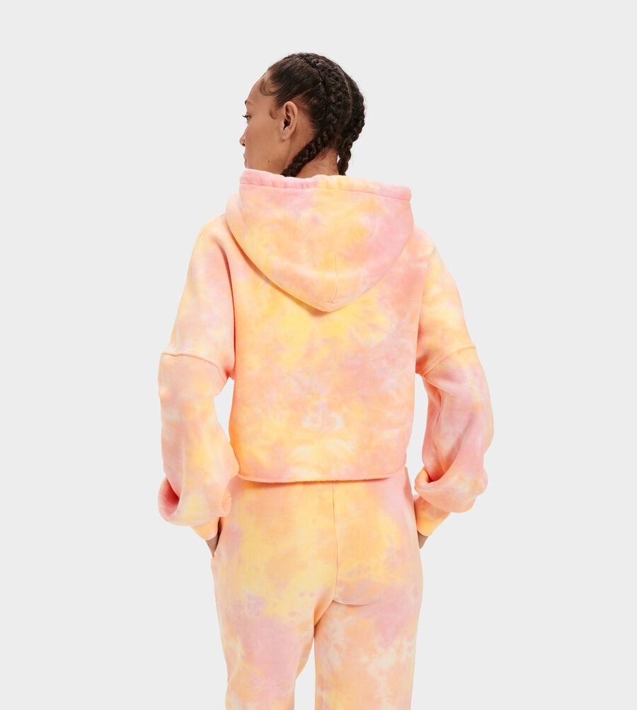 Keira Cropped Hoodie Tie Dye - Image 4 of 5