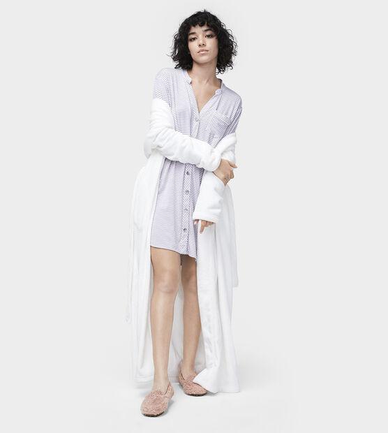 Vivian Stripe Knit Sleepshirt