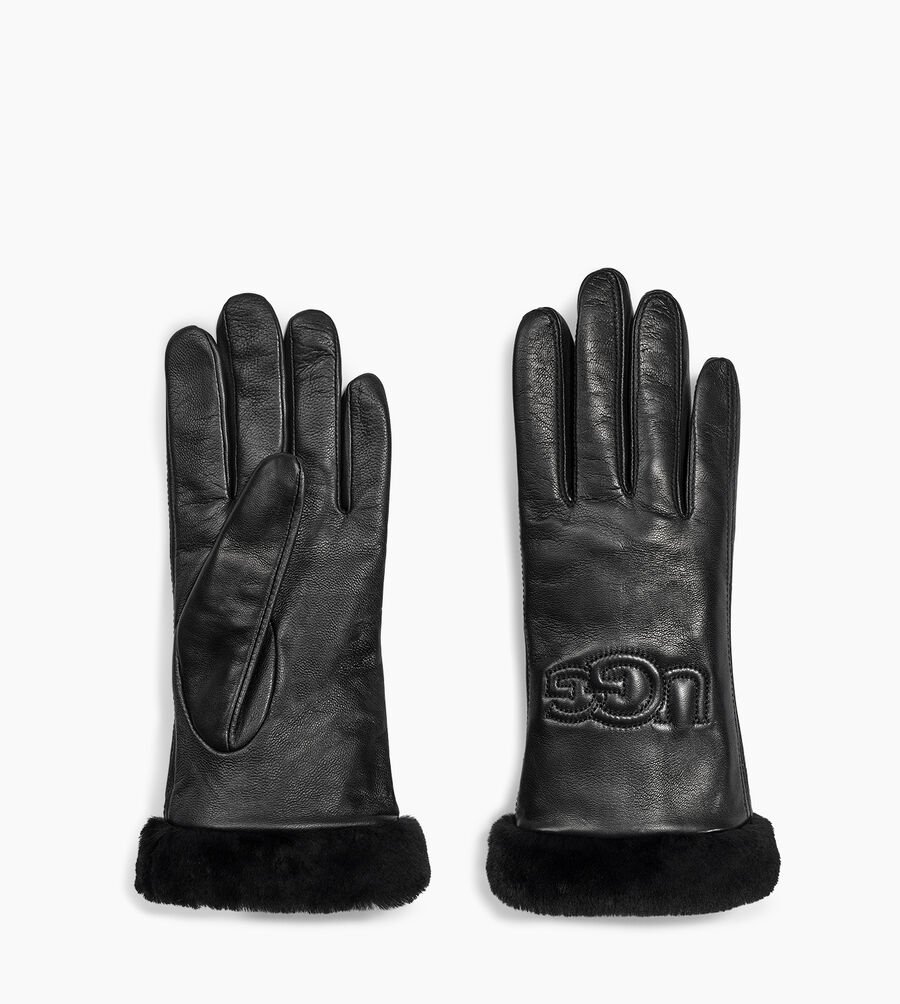 Classic Leather Logo Glove - Image 2 of 2