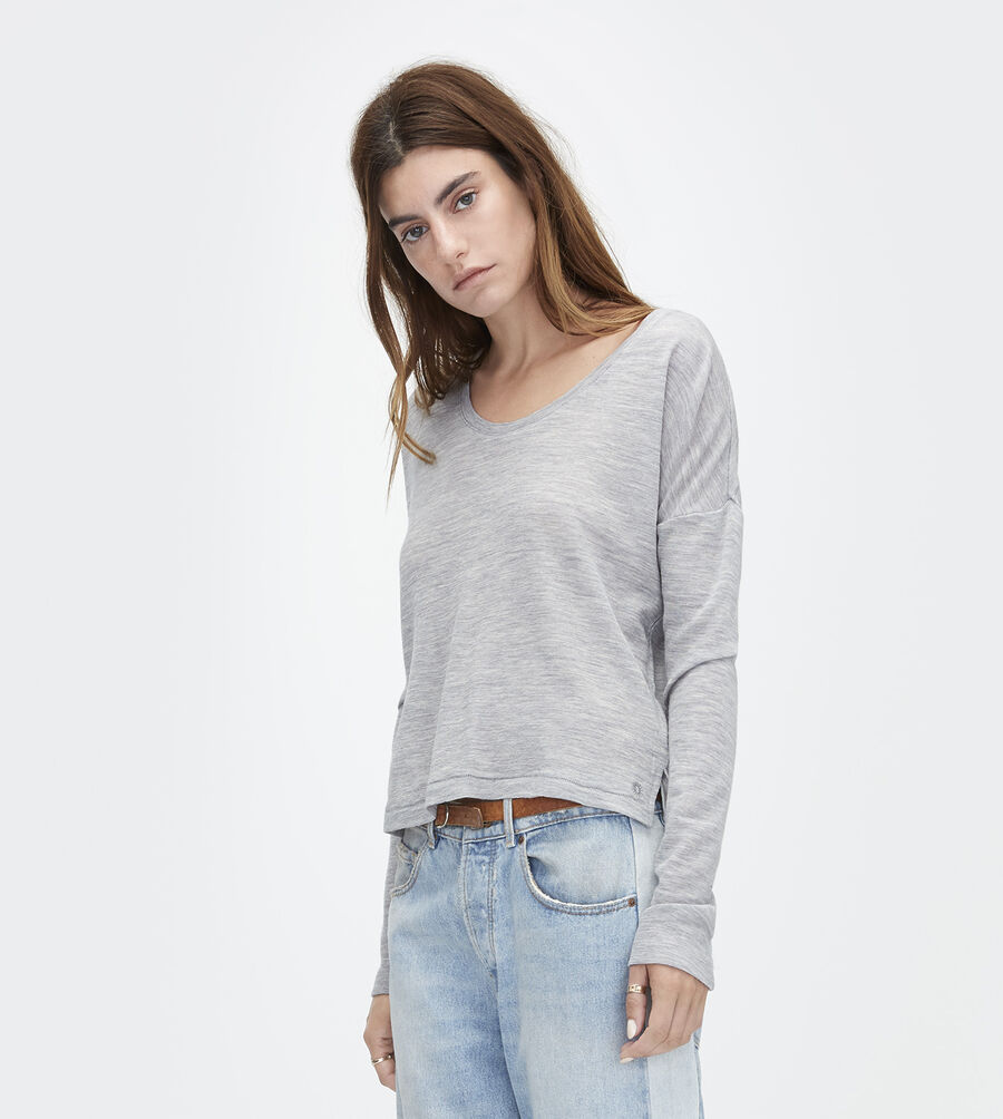 Jersey Knit Long Sleeve Tee - Image 1 of 3