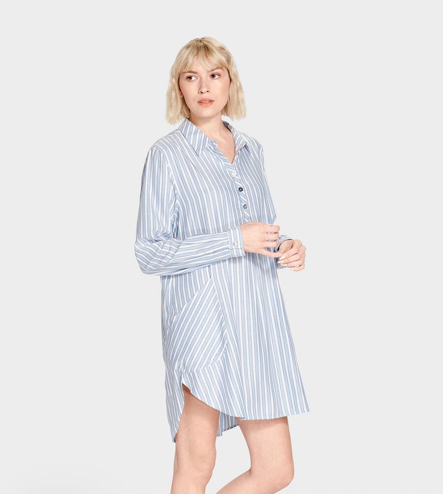 Gabri Stripe Sleep Dress - Image 2 of 5