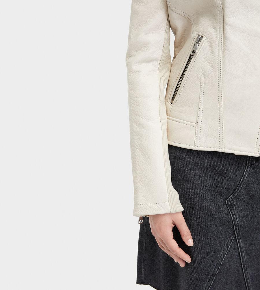 Andee Leather Cycle Jacket - Image 5 of 6
