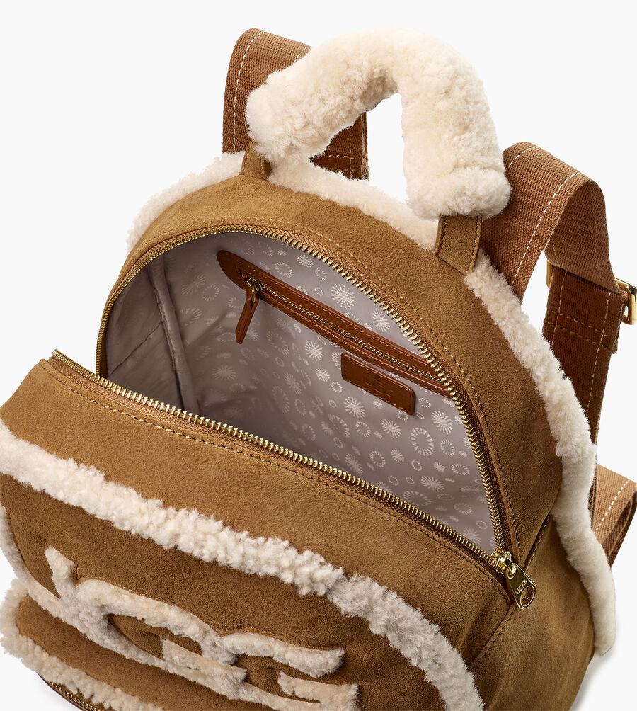Dannie Sheepskin Backpack - Image 4 of 5