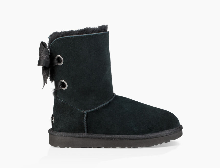 Customizable Bailey Bow Short Boot - Image 3 of 7