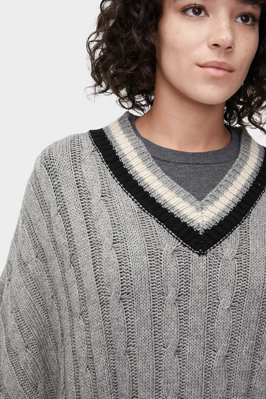 Weslynn Sweater Poncho - Image 4 of 5