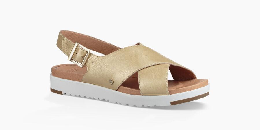 Kamile Metallic Sandal - Image 2 of 6