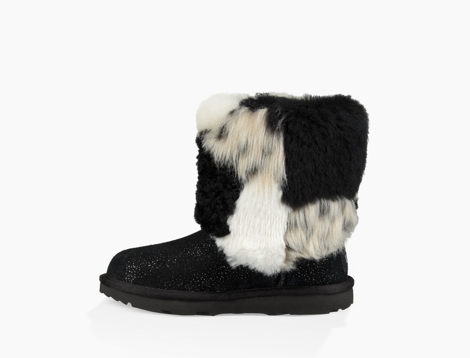 4e6d6f40907 Kids' Share this product Classic Short Patchwork Fluff Boot