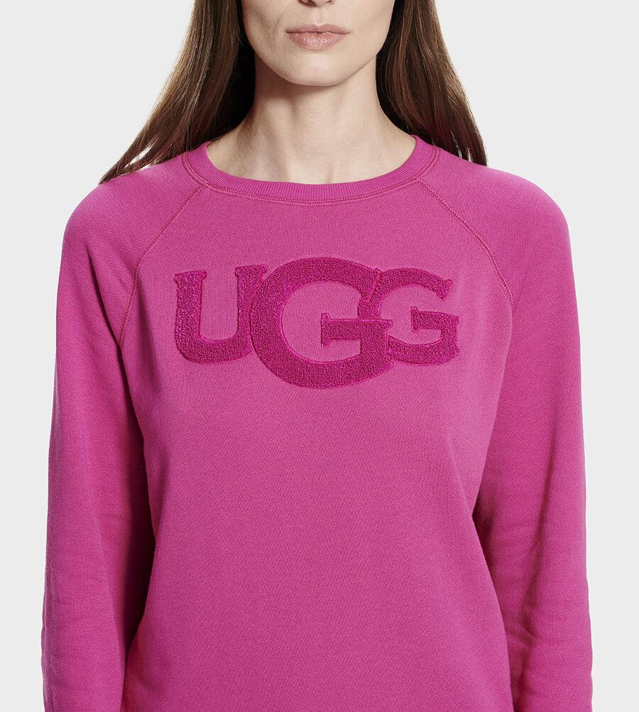 Fuzzy Logo Crewneck Sweatshirt - Image 5 of 6