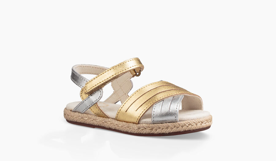 Addilyn Metallic Sandal - Image 2 of 6