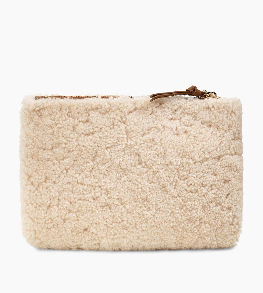 Medium Sheepskin Zip Pouch - Image 3 of 5