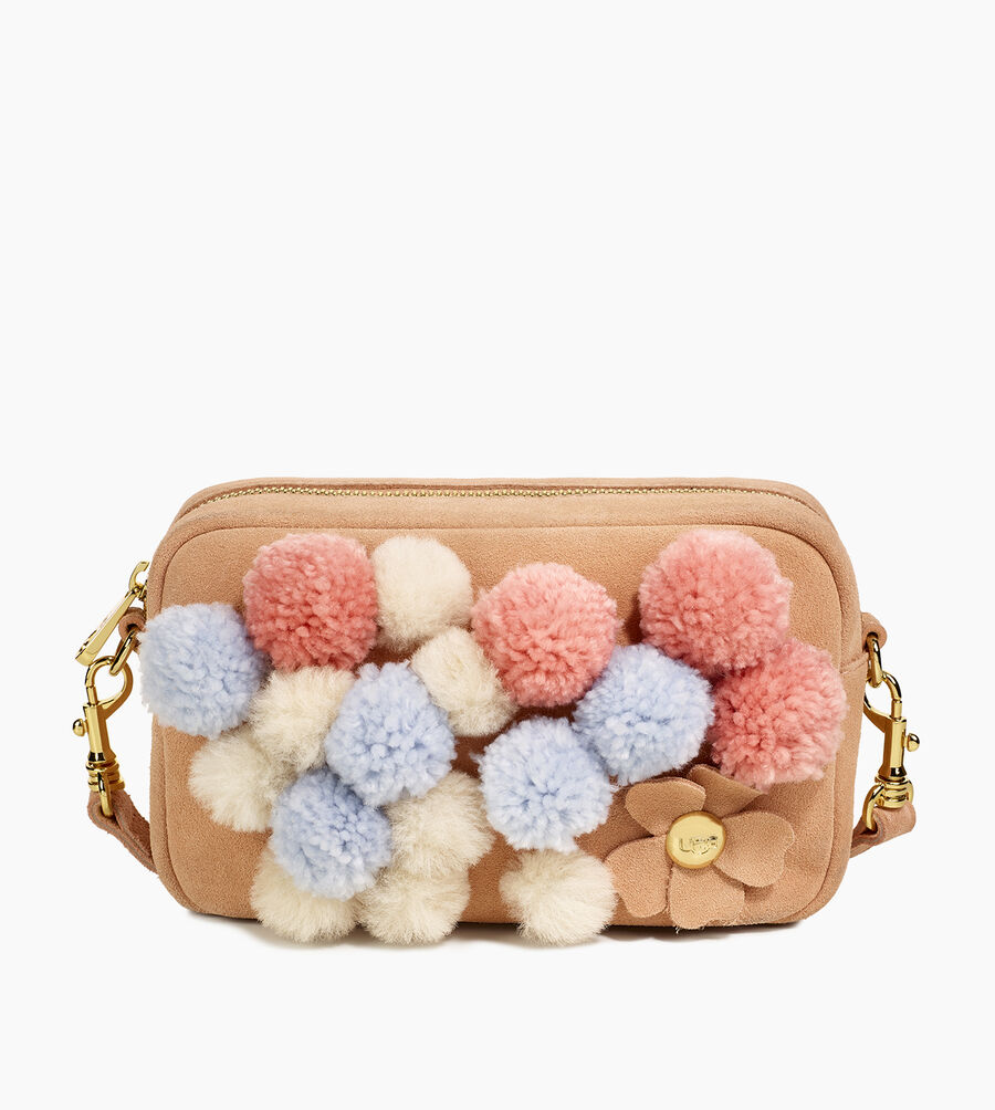 Janey Pom Pom Crossbody Purse - Image 1 of 5