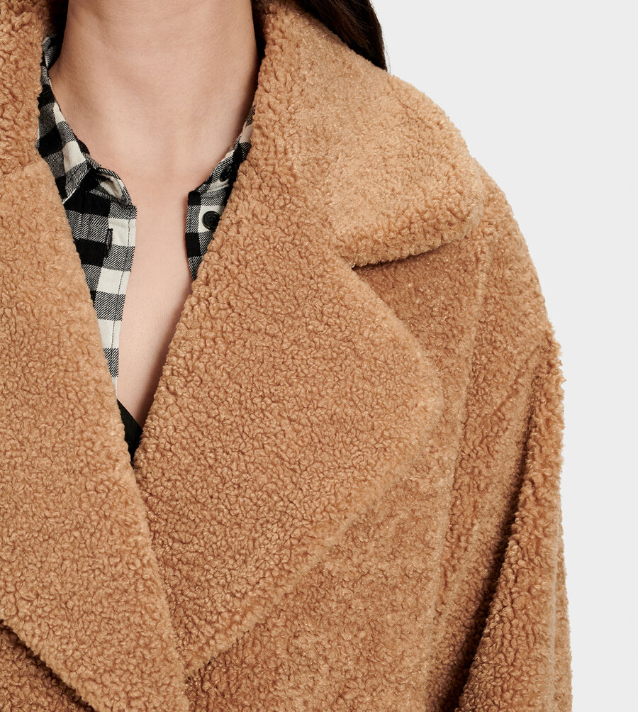 Charlisse Teddy Bear Coat - Image 5 of 6