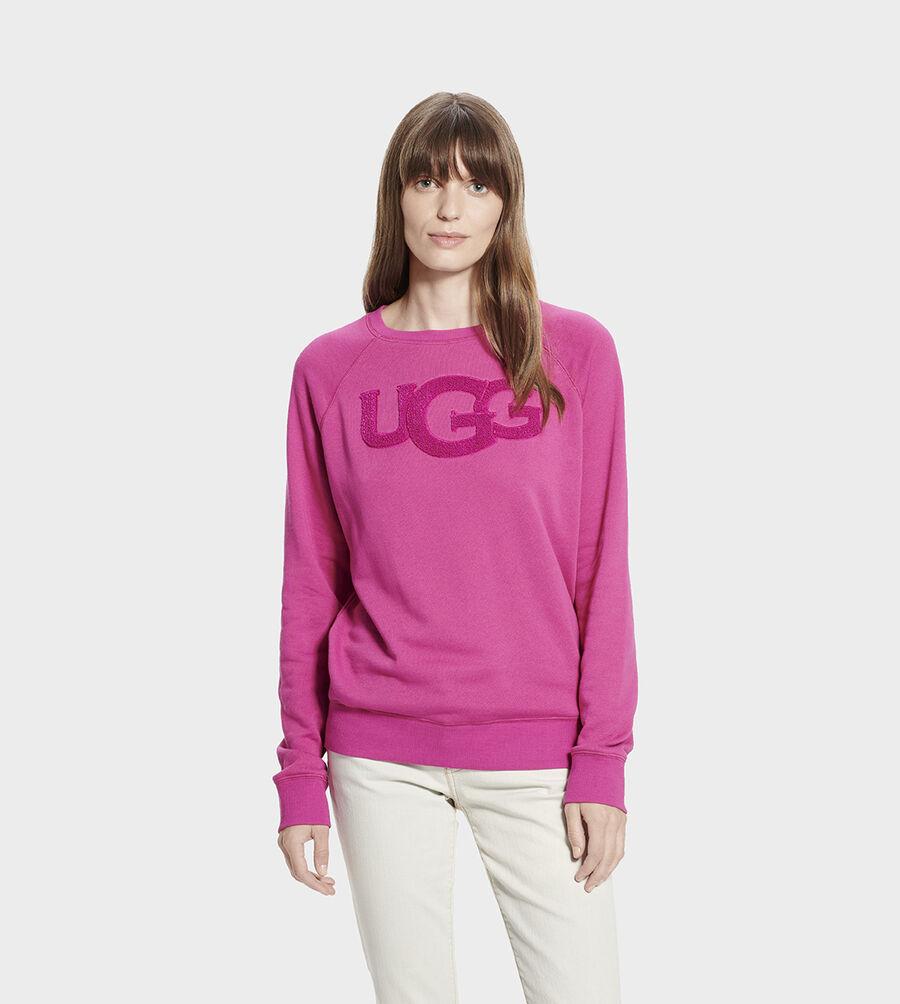 Fuzzy Logo Crewneck Sweatshirt - Image 1 of 6